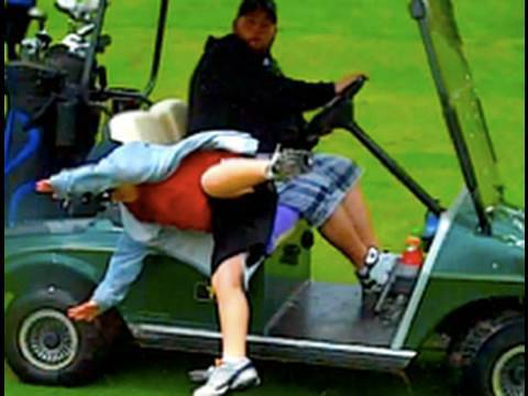 Golf Cart Fail Youtube