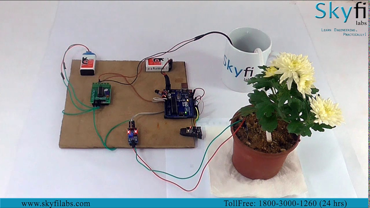 Best IoT Project Tutorials to Build Smart Irrigation System Device at home  - Skyfi Labs