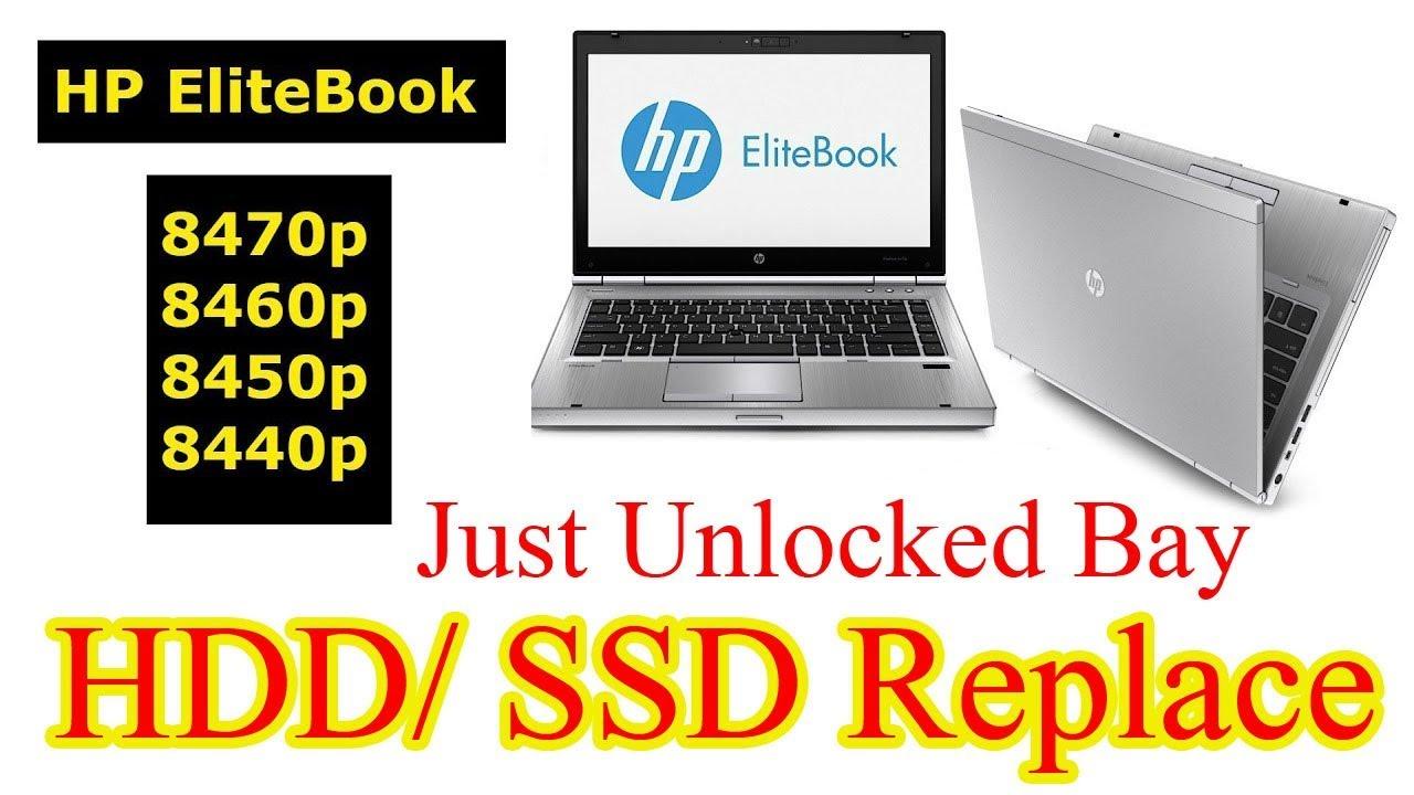 HP Elitebook 8470P Hard Drive Replacement | SSD Installation