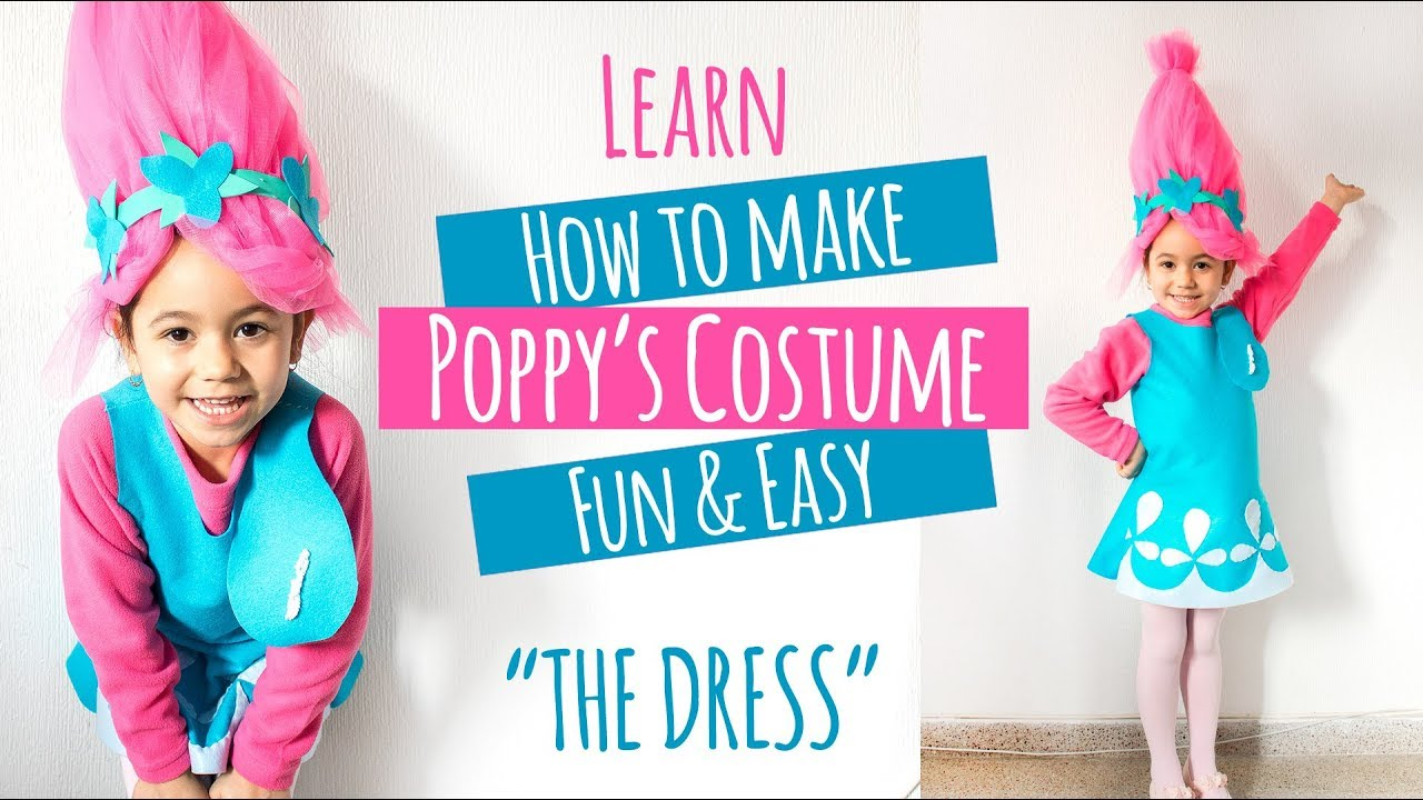 Diy poppy troll costume youtube diy poppy troll costume solutioingenieria Choice Image