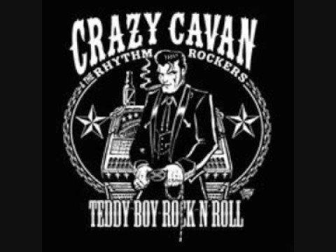 Crazy Cavan & Rhythm Rockers-Rollin