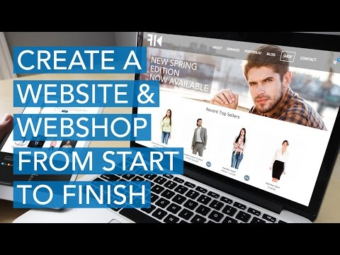 How To Create a Complete eCommerce Website with Wordpress | 2017