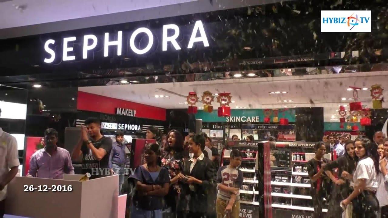 Sephora Cosmetics Store Launched at Express Avenue Chennai | hybiz ...