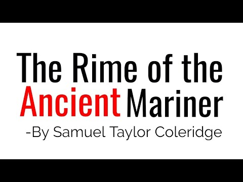 The Rime of the Ancient Mariner Poem by Samuel Taylor