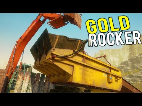 NEW GOLD MINING MACHINE! Finding the Biggest Gold Spot Yet - Gold Rush Full Release Gameplay