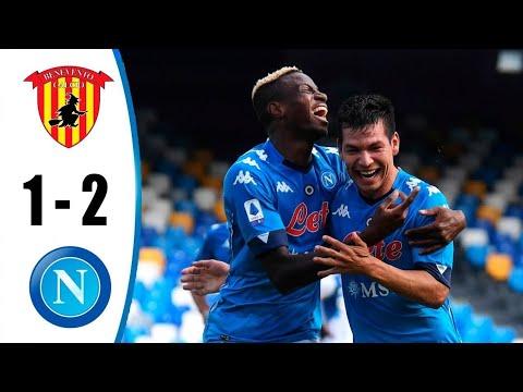 Benevento Vs Napoli 1 2 Highlights All Goals Benevento 1 2 Napoli Mac Ozeti Serie A 25 10 2020 Youtube