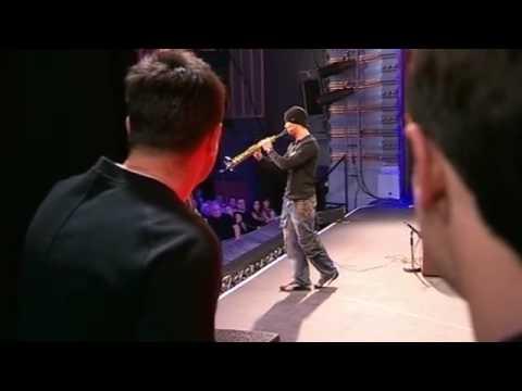 Julian Smith plays the saxophone - Britain's Got Talent 2009 - Show 2