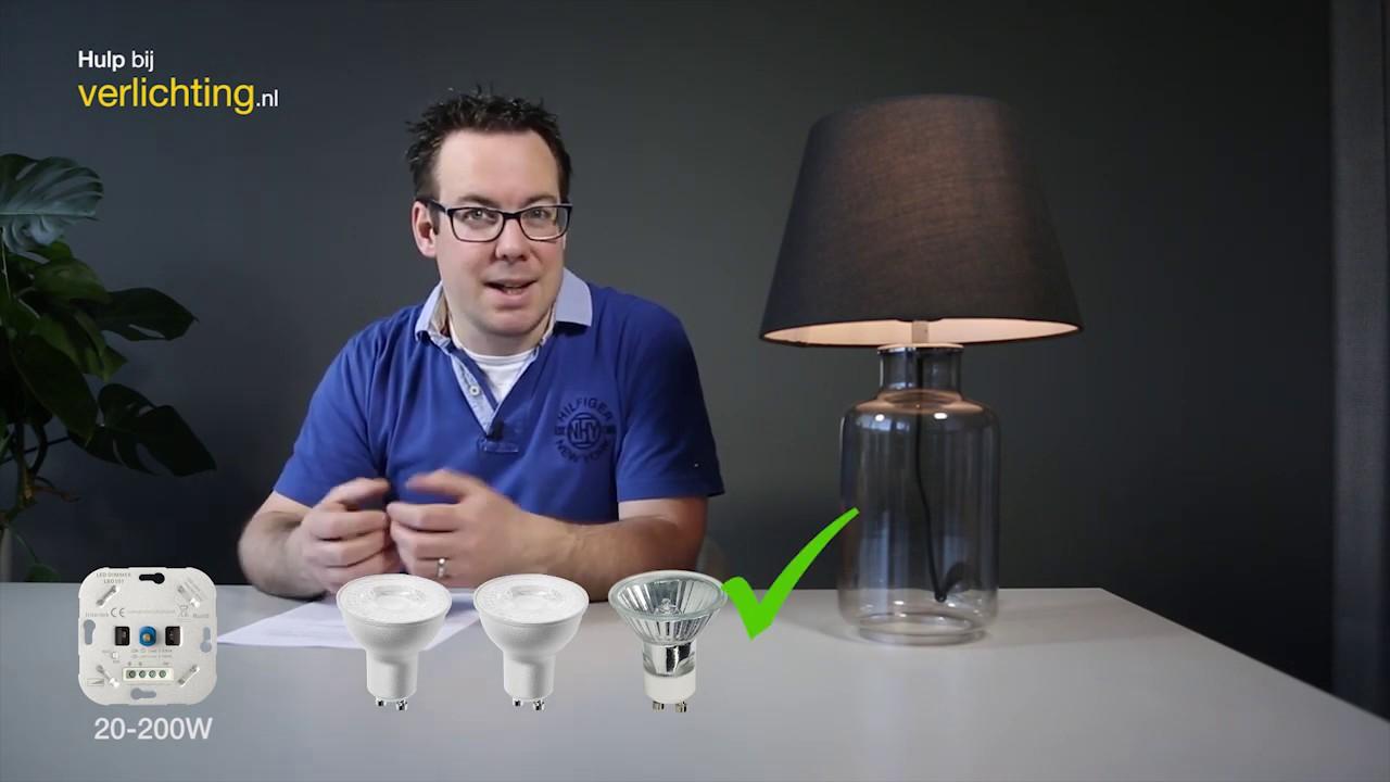 Bekend Hulp bij verlichting: Waarom knippert mijn LED verlichting? - YouTube LO18