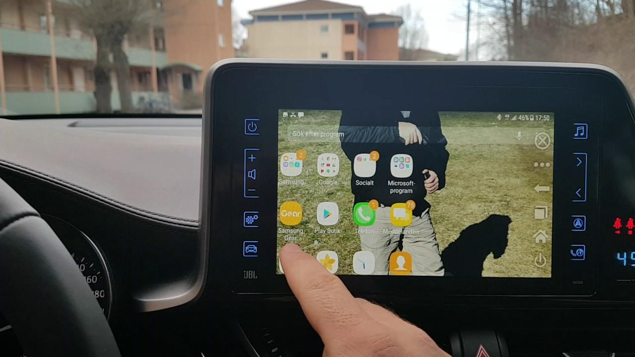 Mirrorlink Toyota tuch with samsung S7