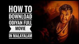 How to download odiyan full movie.... 1000% guaranteed...