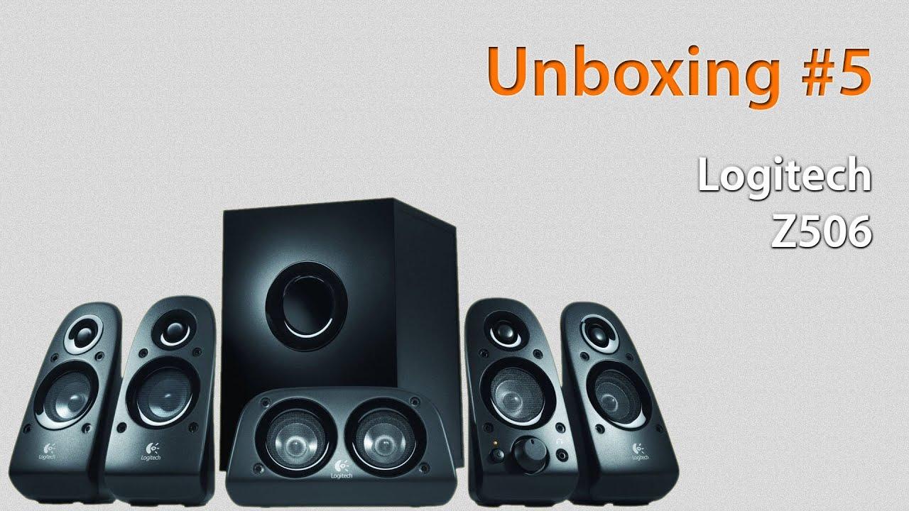 86c8c5c5102 5 Unboxing - Logitech Z506 (HD) (German/Deutsch) - YouTube