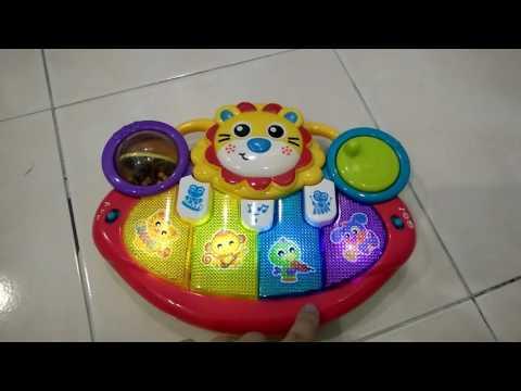 Playgro Lion Activity Kick Toy Piano