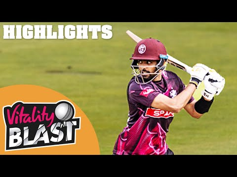 Worcestershire v Somerset | 400+ Runs Score In Thrilling Game! | Vitality Blast 2020 Highlights