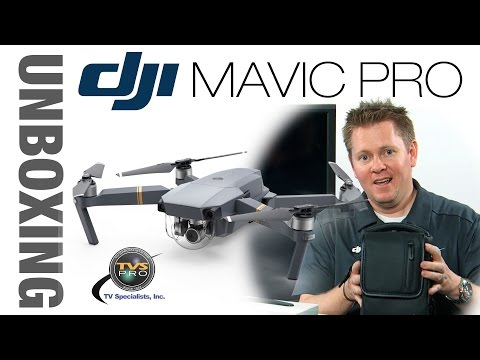 DJI Mavic Unboxing and Getting Started