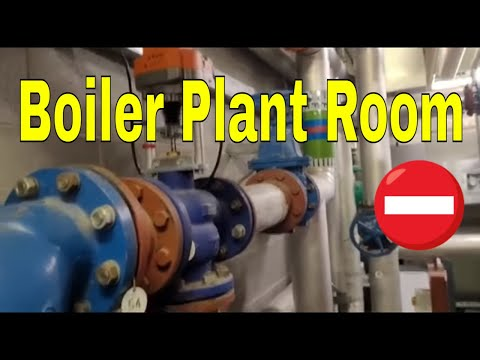 Commercial Plumber Plant Room Tour - Plumbers Videos