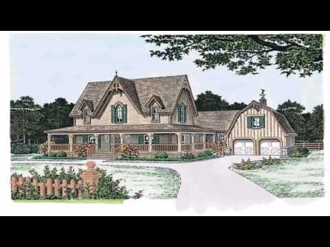 Victorian Gothic Style House Plans