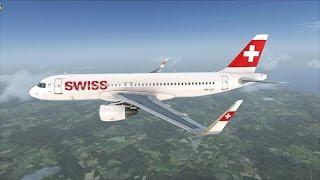 FSX | Zürich - Frankfurt | Swiss A320