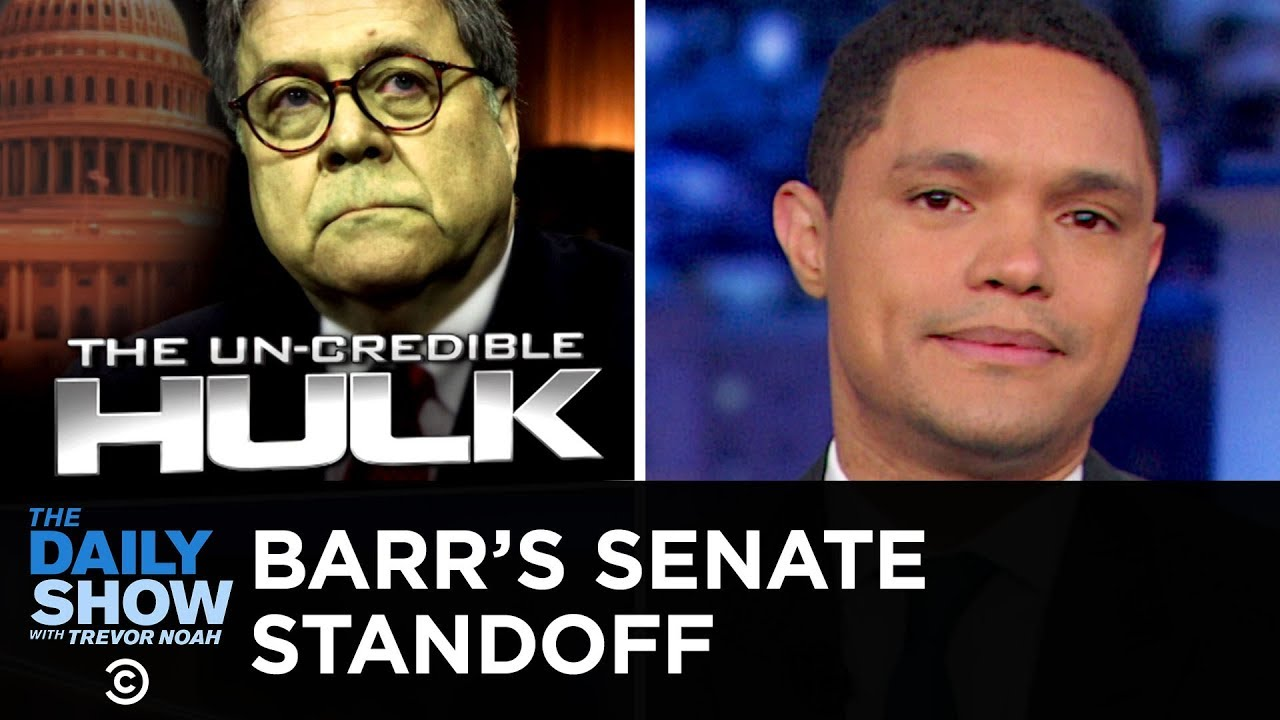 "Summary of Barr's Senate Testimony: ""Nah"" | The Daily Show"
