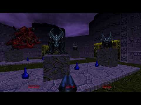 Walled Garden by Scwiba (The UnMaking for Doom 64 EX) |