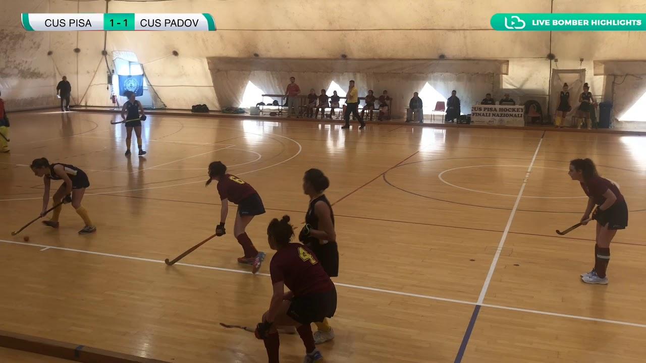 ????  Highlights #U21F #Indoor ~ Cus Pisa vs Cus Padova 2-2 ( 3-2 d.c.r ) ????