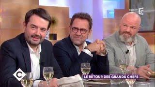 Le jury de Top Chef et Mélanie Thierry au dîner - C à Vous - 23/01/2018