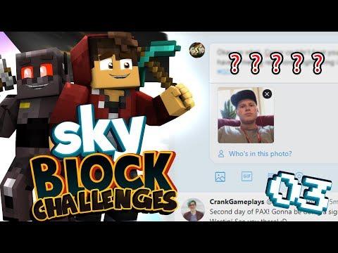 Hacked Graser's Twitter.. (Minecraft SkyBlock Challenges Season 2)