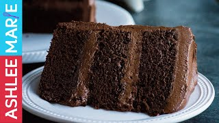 chocolate cake at home