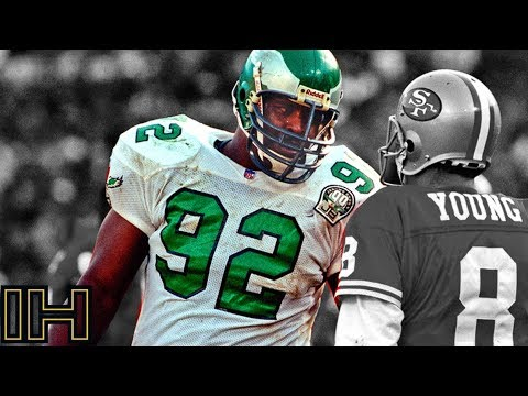 "Reggie White Ultimate Eagles Career Highlights ""The Minister of Defense"""