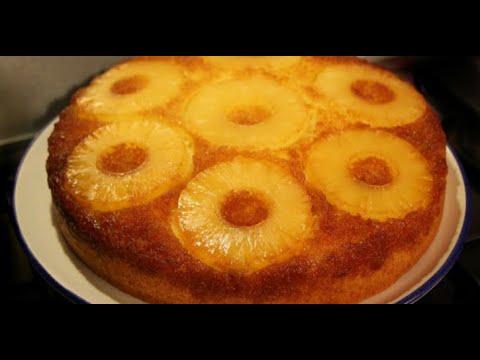 recette-santé-:-gâteau-renversé-à-l'ananas-à-l'ancienne,-sans-sucre,-sans-gluten-et-tellement-délici