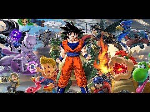 En Vivo de Domingo por la Noche Jugando Super Smash Bros Ultimate  Adios Goku