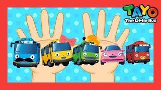 Tayo Lagu Keluarga Jari Finger family l Lagu untuk anak-anak l Tayo bus kecil