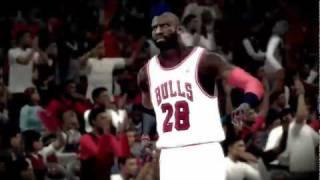 NBA 2K12 PC My Player - [Bulls 5th game] Short Intro