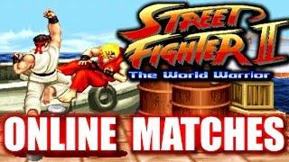 Street Fighter 2 World Warrior Online Matches Fightcade Arcade
