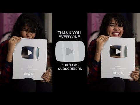 UNBOXING SILVER PLAY BUTTON | CuteBox |PoojaRathi