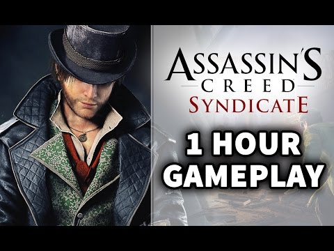Assassin's Creed Syndicate: 1 HOUR of Gameplay Walkthrough LIVE on PS4 with Parkour & Free Roam