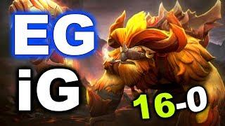 EG vs iG - SumaiL Crazy 16-0 Earthshaker! - EPICENTER DOTA 2