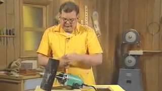 Работа с ручным фрезером Урок  30