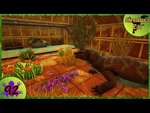 Ark: Shredder's Zoo - Finishing the Reptile House [92]