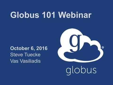 Globus 101 Webinar