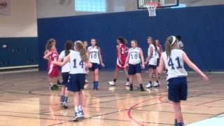 Saratoga Girls Travel Basketball game 12/9/12