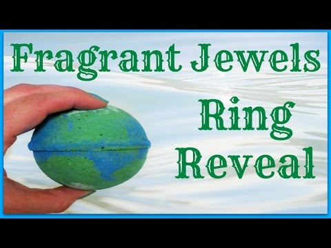 Fragrant Jewels Ring Reveal - Earth Bath Bomb!