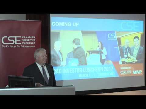 Richard Carleton, Canadian Securities Exchange, PreDAC Vancouver 2017