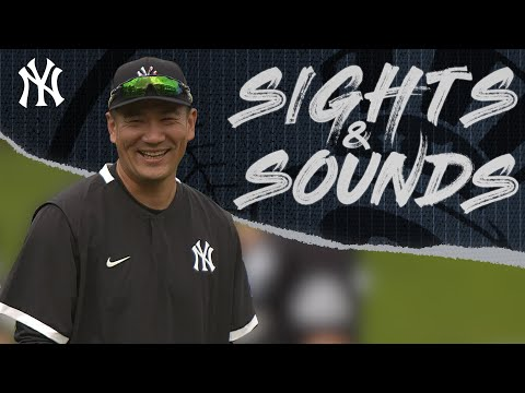 Sights-Sounds-Pitchers-and-Catchers-New-York-Yankees