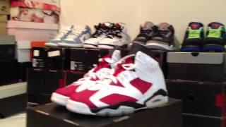 Repeat youtube video Day 6 - 23 Days of Jordans! Carmine VI's - Legit Check?