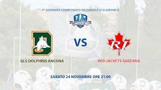 U19 2018 - Dolphins Ancona - Red Jackets Sarzana
