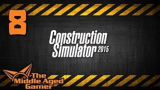 Construction Simulator 2015 - Part 8 - Crane Truck + Duplex House - Live Stream