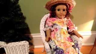 Garage Sale Find For American Girl Dollhouse