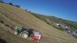 Work on Mountain- John Deere 7530 Premium + Welger RP 320