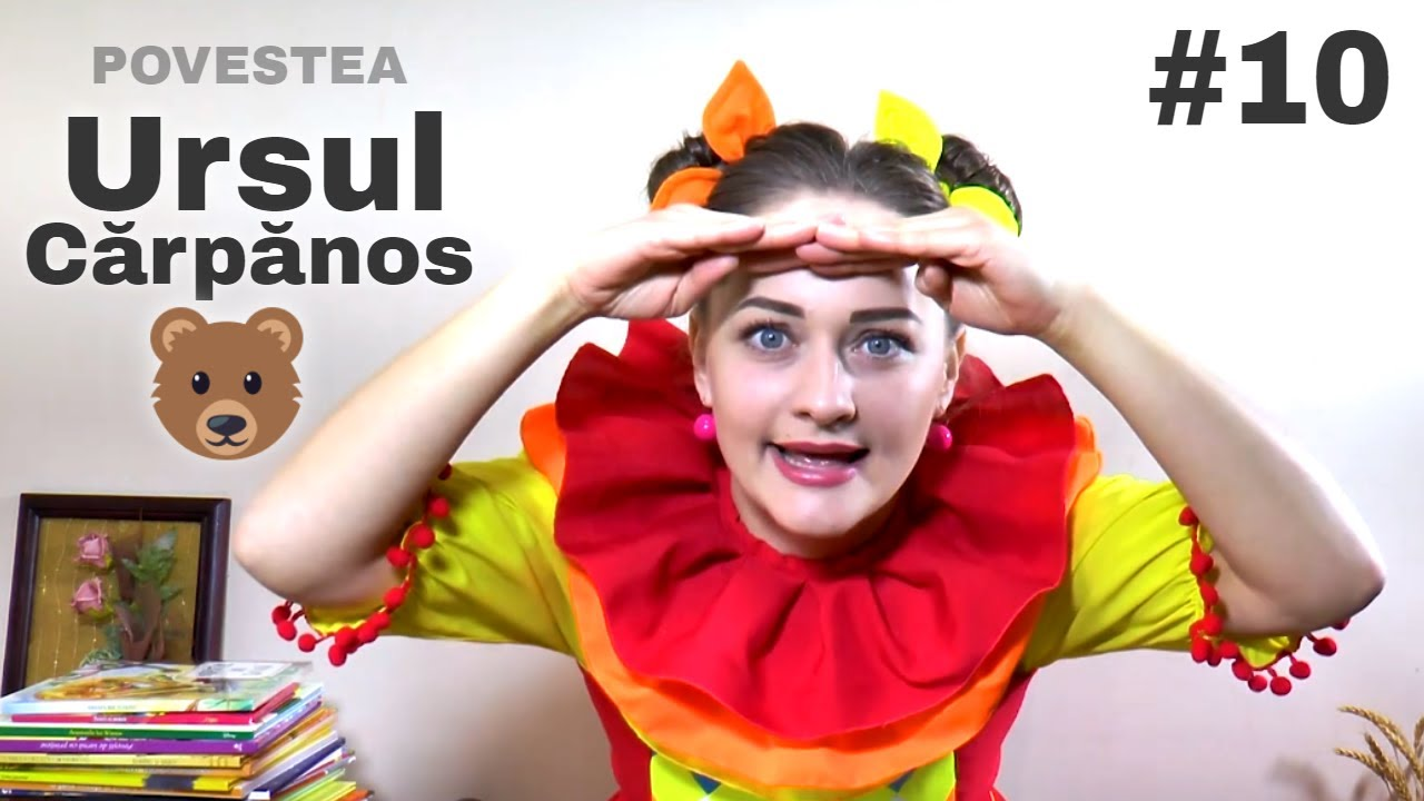 Povesti cu Clounella #10 - Ursul Carpanos   Poveste pentru Copii   Tralala   Planeta Clounella