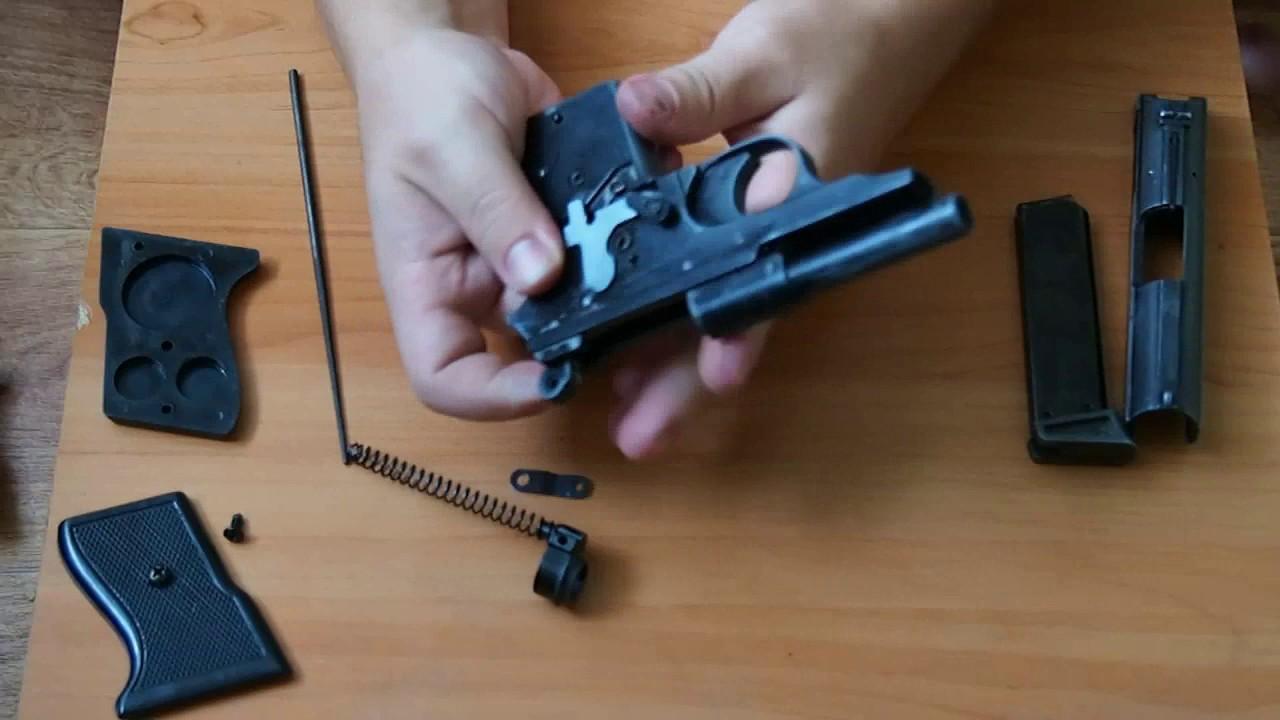 Обзор газового пистолета ME 8 POLICE